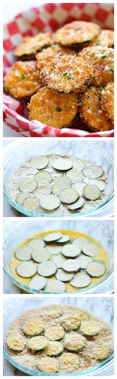 "Zucchini Parmesan Crisps - A healthy snack that's ""incredibly crunchy, crispy and addicting""."