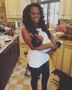 Kandi Burruss Praises Breastfeeding for Her Post-Baby Body Post Pregnancy Body, Post Baby Body, Housewives Of Atlanta, Real Housewives, Black Celebrities, Celebs, Kandi And Todd, Vanessa Simmons, Kandi Burruss