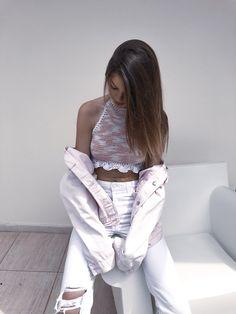 @hiroine | #handmade #crochet #crochettop #diy #knittop