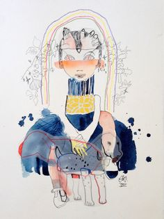 SAYNETE XXV, original drawing