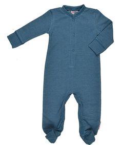 Adorable combinaison rétro en bleu denim par Baba Babywear. baba-babywear.fr.emilea.be