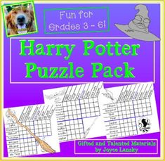 Logic Puzzles Grids - Harry Potter