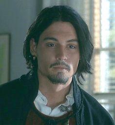 Johnny Depp as Don Juan De Marco.