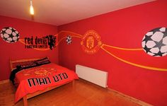 Beautiful murah of Manchester United FC for kids room. Its full red ... Do you want to earn money writing about your most-liked football sports team?? for additional information, explore this particular great blog post http://www.soccerfanspreneur.com/11-ways-to-make-money-locally-during-russia-2018-world-cup