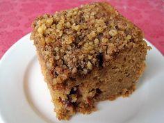 Gluten Free Crockpot Cranberry Coffee Cake