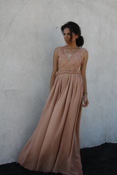 nude sensation Bridesmaid Dresses, Wedding Dresses, Costa, Feminine, Nude, Gowns, Elegant, Formal, Style