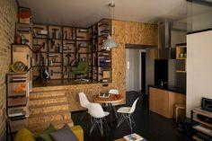 基輔公寓改造成綠洲優雅和溫暖