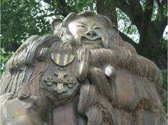 Oz Park - The Cowardly Lion (2011)...#Chicago #WindyCity #Illinois
