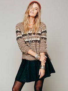 Free People Mairin Vegan Leather Skirt