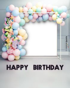 Happy Birthday Wishes Song, Birthday Wishes With Photo, Birthday Photo Frame, Happy Birthday Frame, Happy Birthday Posters, Happy Birthday Photos, Birthday Frames, Birthday Wishes For Girls, Birthday Kids