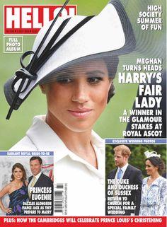 July Meghan The Duchess of Sussex. Meghan Markle Prince Harry, Prince Harry And Megan, Harry And Meghan, Prince Henry, Princess Diana Family, Princess Meghan, Hello Magazine, Prinz Harry, Royal Brides