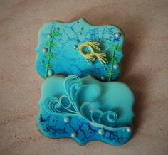 Summer ocean cookies | Cookie Connection