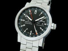 Fortis 清水屋《1年保証》フォルティススペースマティックGMT未使用 時計 Watch Antique ¥120000yen 〆05月22日
