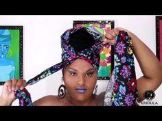 Como fazer Turbante Clássico - Por Mile Reis - YouTube