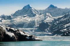 Glacier Bay National Park, Alaska, covers 3.3 million acres - a highlight of Alaska's Inside Passage. #cruise #cruiseabout #Alaska #Glacierbay