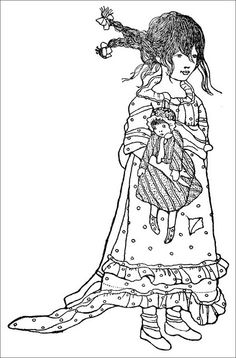 Vintage Coloring Pages.  New one added every weekend.