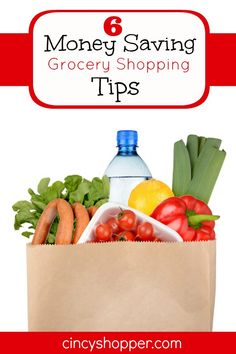 Money Saving Grocery Shopping Tips. Some simple tips for saving money when grocery shopping.