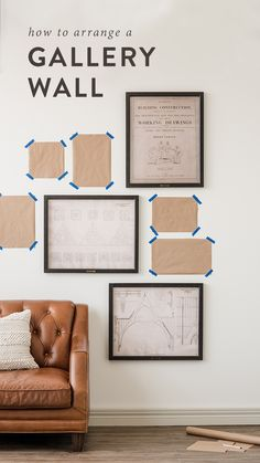 How to arrange a gallery wall | Magnolia Journal | Chip & Joanna Gaines | Waco, TX |