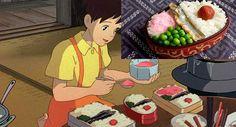 Así es cómo luce la comida de las películas de Miyazaki en la realidad