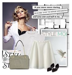 """Stylemoi13/15"" by tiko-riko ❤ liked on Polyvore featuring KAROLINA, Chloé and Nly Shoes"