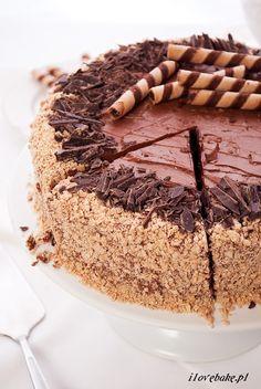 Tort ferrero rocher, najlepszy - przepis - I Love Bake Baking Recipes, Cake Recipes, Dessert Recipes, Vegan Sweets, Healthy Sweets, Vegan Junk Food, Vegan Kitchen, Savoury Cake, Cookie Desserts