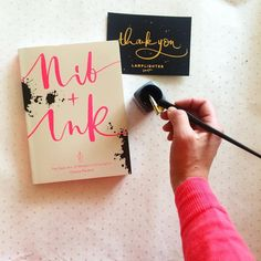 Nib + Ink Modern Calligraphy Book by Chiara Perano. Picture by Modern Calligraphy, Guide Book, New Art, Ink, Books, Pictures, Instagram, Photos, Libros