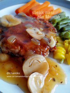 Resep MPASI: Steak Nasi ala Mamah (1y+) | Cerita Mami Kenzie