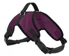 Dog-Wild Sporty Purple Mesh Dog Harness