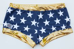 Derby Kiss Wonder Woman Roller Derby shorts by DerbyKiss on Etsy