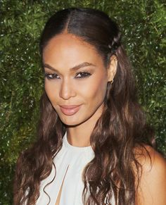 13 Super-Sexy Summer Hairstyles You Need to Try - Joan Smalls' Braided Half-Updo from #InStyle