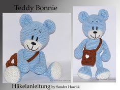 Häkelanleitung, DIY - Teddy Bonnie - Ebook, PDF, deutsch oder englisch