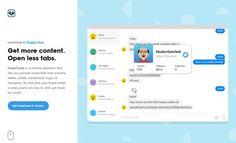 Sabías que HoverCards, extensión para Chrome que ofrece información contextual de enlaces de perfiles sociales