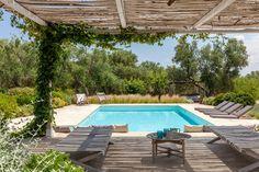Trullo Gaura- superbe trullo avec piscine en location dans les Pouilles, en Italie