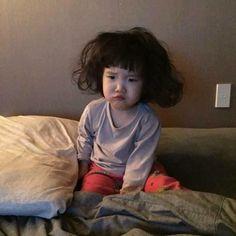 Giận à nha - Cute Asian Babies, Korean Babies, Asian Kids, Cute Babies, Cute Little Baby, Cute Baby Girl, Little Babies, Baby Kids, Cute Baby Meme