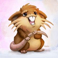 020 - Raticate by TsaoShin on DeviantArt Cute Pokemon, Pokemon Go, Deviantart Pokemon, Pokemon Pocket, Cartoon Design, Tigger, Pop Culture, Disney Characters, Fictional Characters