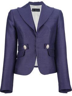 DSQUARED2 Cropped Fitted Blazer . Prachtige kleur en mooie details