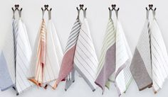 Check out the Pastry Stripe Kitchen Towels in Fabrics & Linens, Kitchen & Tea Towels from Teroforma for Kitchen Linens, Kitchen Towels, Kitchen Decor, Kitchen Design, Dish Towels, Tea Towels, Linen Towels, Kitchen Utilities, Cloth Napkins