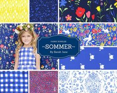 A personal favorite from my Etsy shop https://www.etsy.com/listing/397824935/fabric-bundle-sommer-sarah-jane-michael