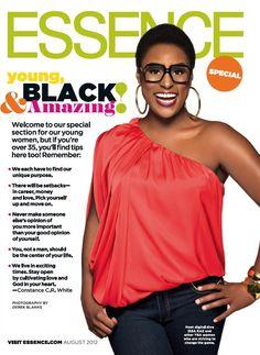Young, Black & Amazing via Essence Magazine. Yay Issa Rae from Awkward Black Girl!
