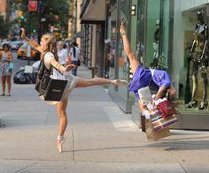 .shopping ballerina style// de ahora en adelante así voy a comprar