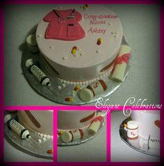 Nurse cake...cute