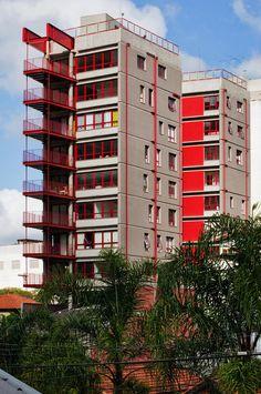 2007, Grupo SP / Alvaro Puntoni: Edifício Residencial na Rua SIMPATIA, São Paulo (SP) Brazil.