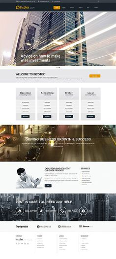 Incotex investment advisors #Joomla #template. #themes #business #responsive