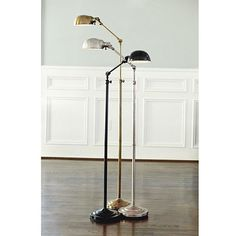 vintage chic antique white floor lamp base mom shabby. Black Bedroom Furniture Sets. Home Design Ideas