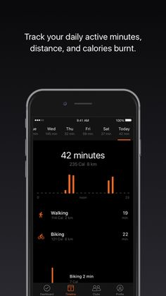 self tracking app iphone