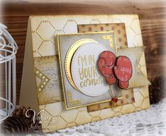 In Your Corner by Julee Tilman using the Just Breathe set from Verve Stamps | Click here to view more of Julee's creations. | #vervestamps #cardmaking #juleetilman