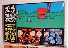 Charlie Brown Colorforms