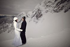Mountain Dream Wedding at Fernie Alpine Resort - Photo by 68photography.ca Love Now, Top Of The World, Got Married, Dream Wedding, Mountain, Traditional, Mountaineering