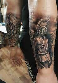 72c6292af Gladiator Tattoo 4 | Gladiator Tattoo | Gladiator tattoo, Tattoos ...