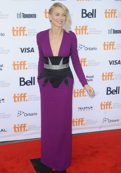 Naomi Watts in Antonio Berardi | Toronto Film Festival 2014